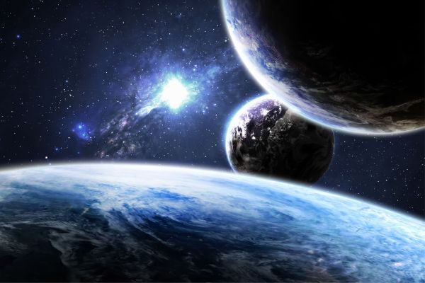 Planet Planeten All Galaxy Weltall Poster P0231